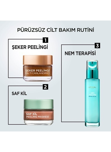 L'Oréal Paris Pure Clay 50 ml  Renkli